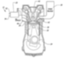 Patent for a vehicle engine