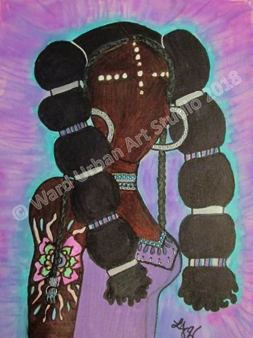 Afrocentric 12x16