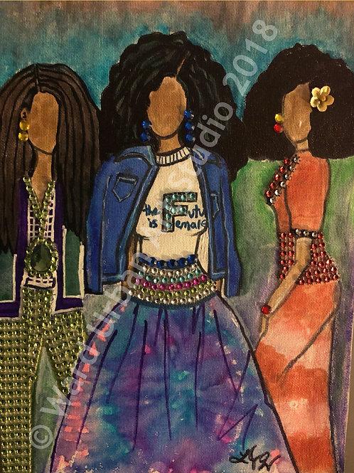 Fashionistas, 18x24