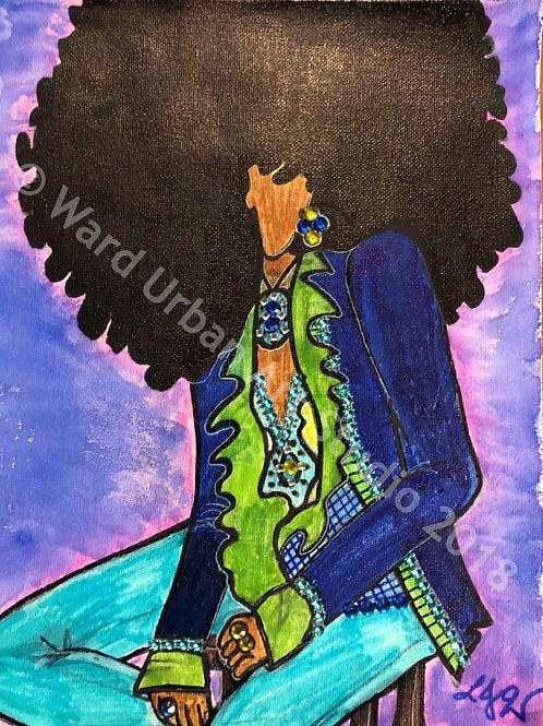 Hendrix Vibe, 9x12