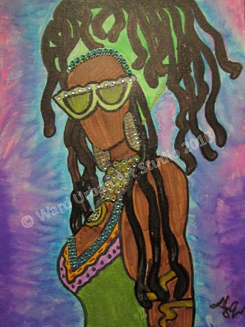 Fly Dred 9x12