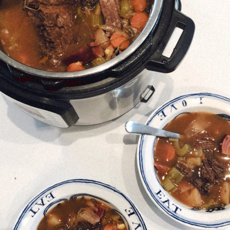Instant Pot EASY Hearty Stew