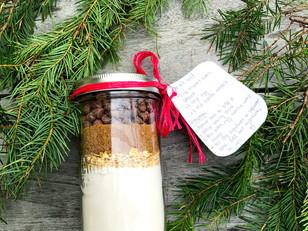 DIY Baking Gift | Chocolate Chip Cookies in a Jar