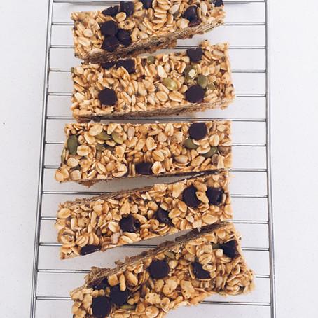 Nut-Free No-Bake Granola Bars