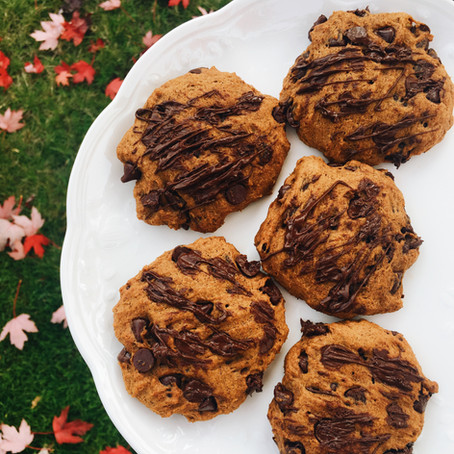 Pumpkin Pie Chocolate Chip Cookies