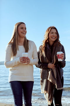 Vancouver Dietitians Alexandra Inman and Stephanie Dang