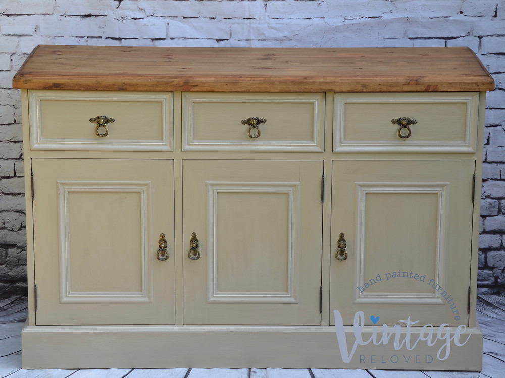 farmhouse sideboard country grey