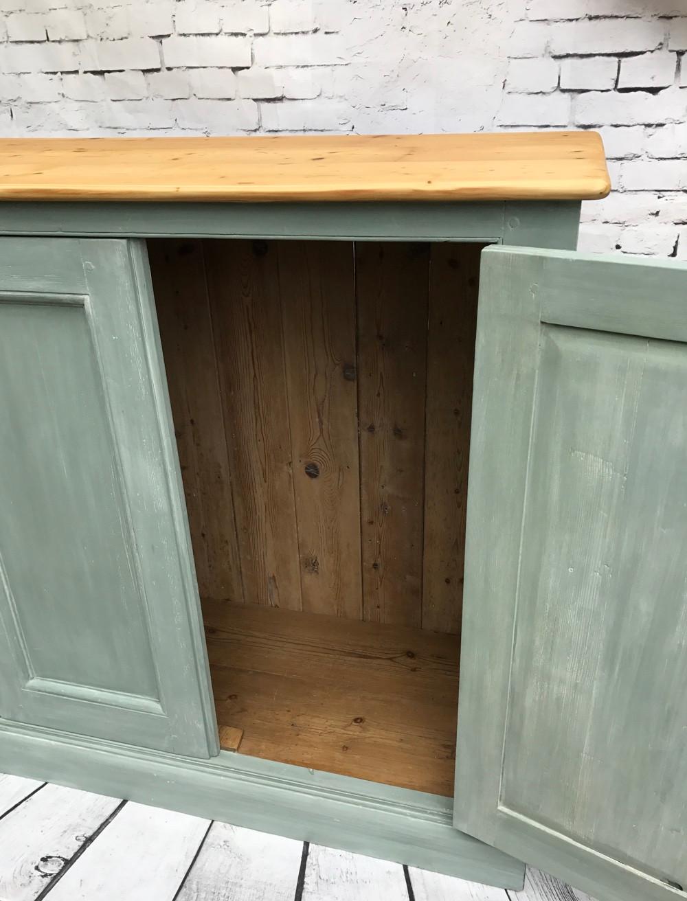 farmhouse cupboard duck egg