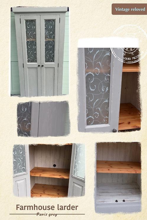 Farmhouse Larder or linen cupboard
