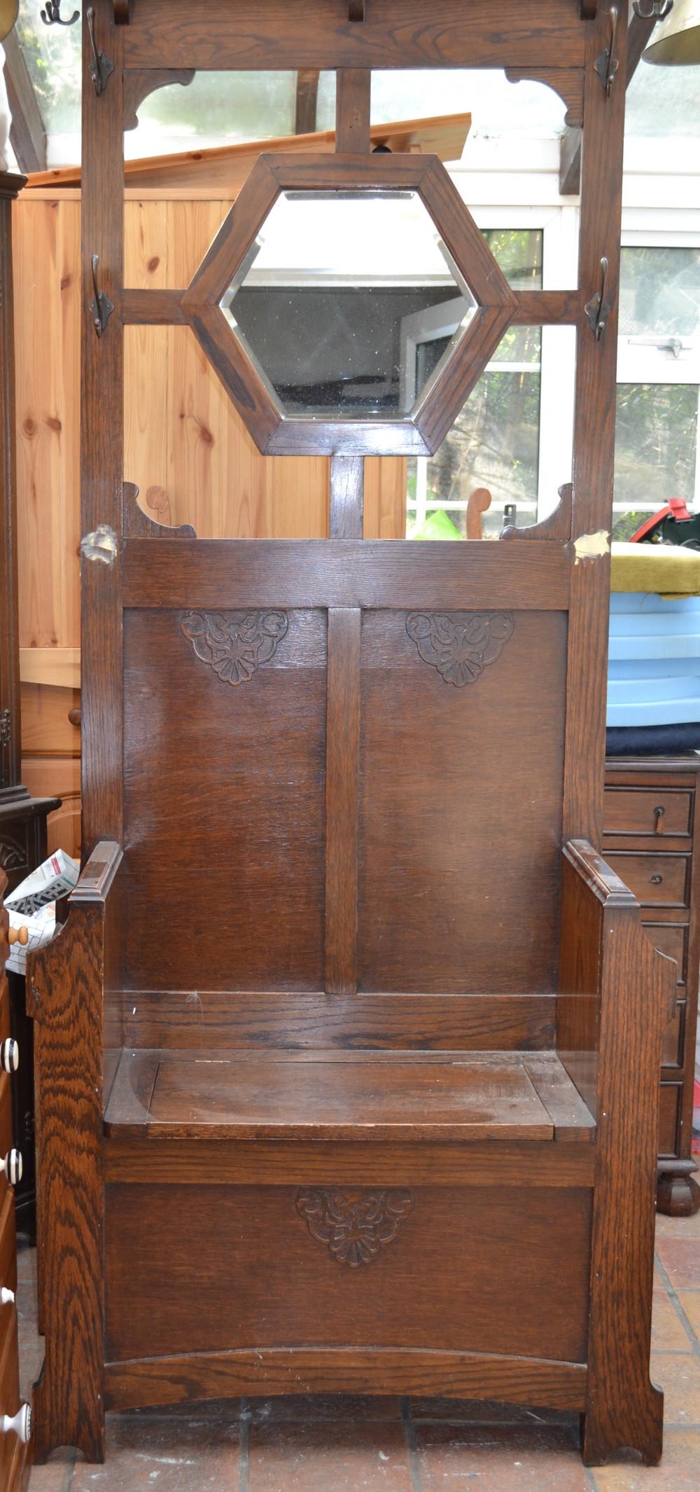 tree hall seat