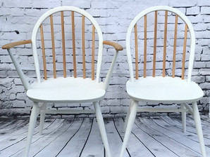 Ercol chairs re-styled