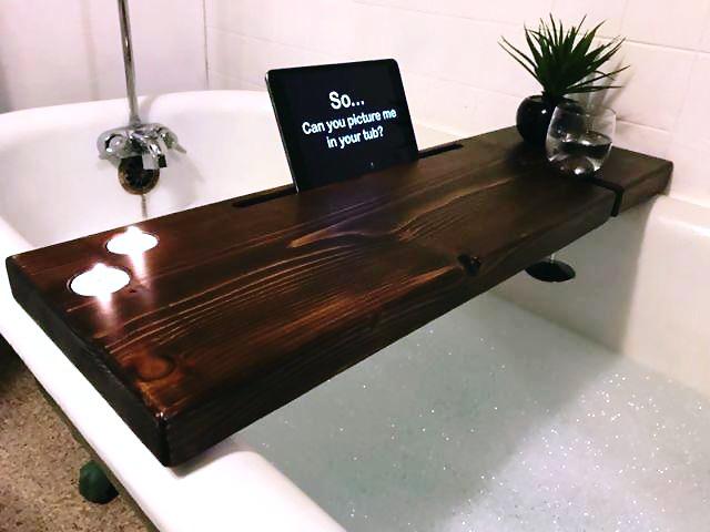 Nice Tub Paint Thick The Bathtub Shaped Tub Glazing Reglaze A Tub Young Glazing A Tub RedRefinish Shower Stall DubTub Canada   Drop Dead Gorgeous Bath Caddies