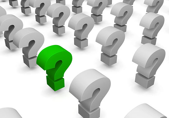 Lines of question sign - one sign marked green.jpg
