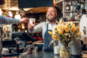 Coffee Shop Business Funding Celebration