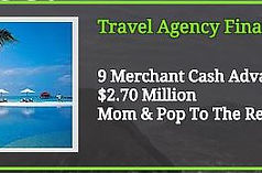 Mom and Pop Merchant Solutions DBA Mom and Pop Business Funding provides small business loans and merchant cash advances via our ISO Partners in 5 to 7 days. Mom and Pop Merchant Solutions also provides unsecured business loans for Travel Agencies and Travel Agency Financing!
