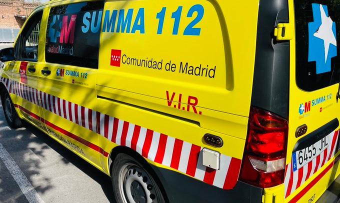Un trabajador de Alcobendas se encuentra en estado grave tras sufrir un traumatismo craneoencefálico