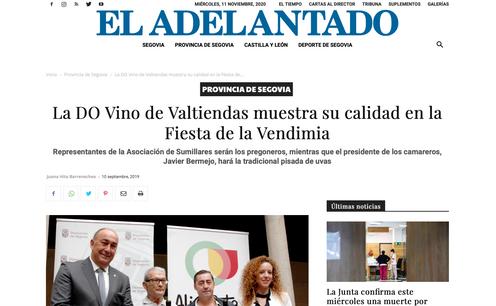 La DO Vino de Valtiendas muestra su calidad en la Fiesta de la Vendimia