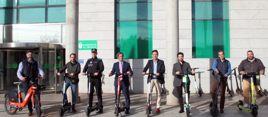 Alcobendas impulsa la nueva movilidad urbana con más bicicletas y patinetes eléctricos