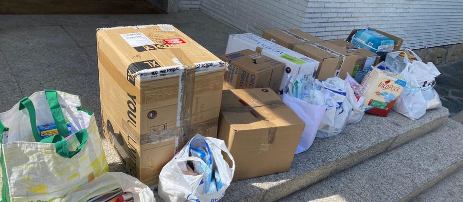 El Partido Popular de Alcobendas coordina el donativo de más de 5.000 euros de ayuda para La Palma