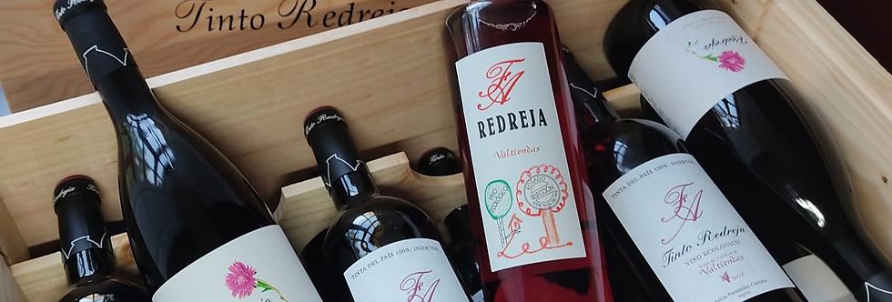 Pack 6 botellas (Redreja Joven, Redreja Roble, Rosado Redreja Selección)