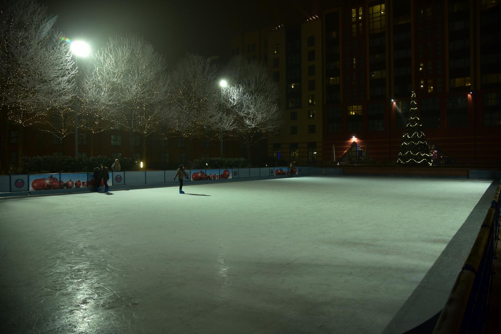 glace synthétique par froid polaire