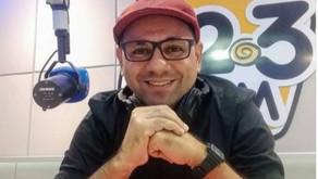 Radialista Welligton Aquino se despede da 92FM