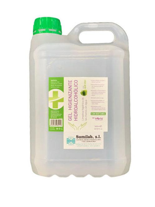 Gel higienizante hidroalcohólico 5L