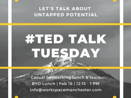 Network & skillUP: TED Talk