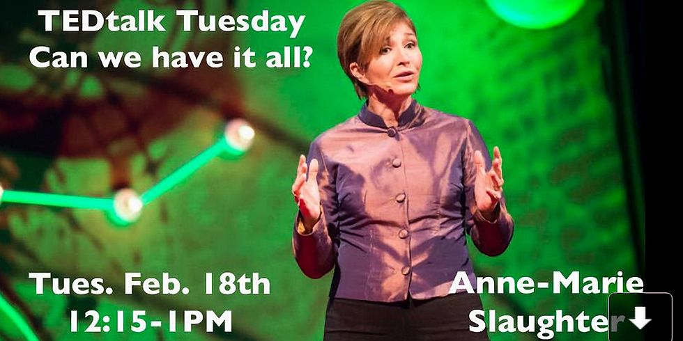 UP Tuesday TED Talk Determine Your Passion