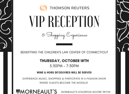 Not just for those lawyers among us... a terrific networking opportunity! All to benefit children.
