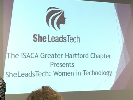Great Panel at SheLeadsTech Event