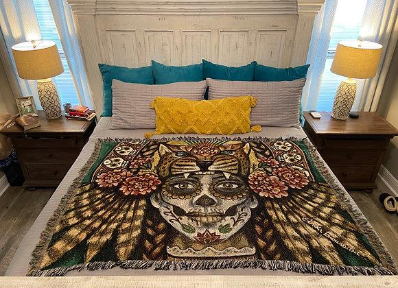 Art Blanket | Dia de los Muertos
