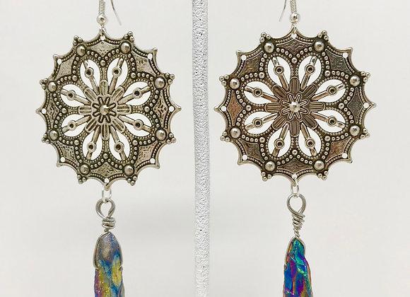 Mandala Crystal Silver
