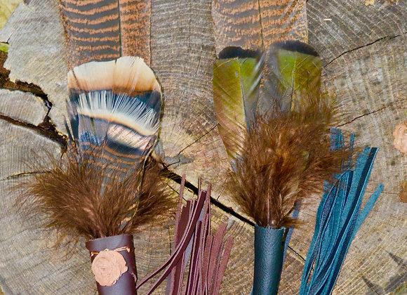Turkey Feather Fans