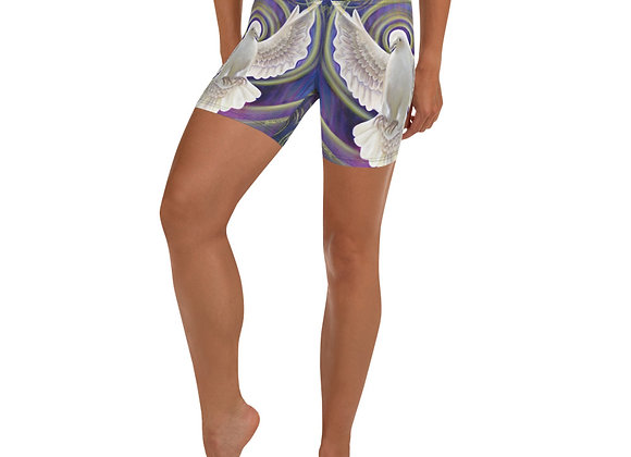 Holy Spirit Yoga Shorts