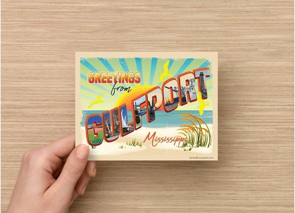 Gulfport Post Card