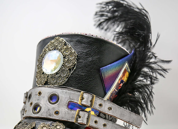Illuminated Majorette Hat | Burning Man