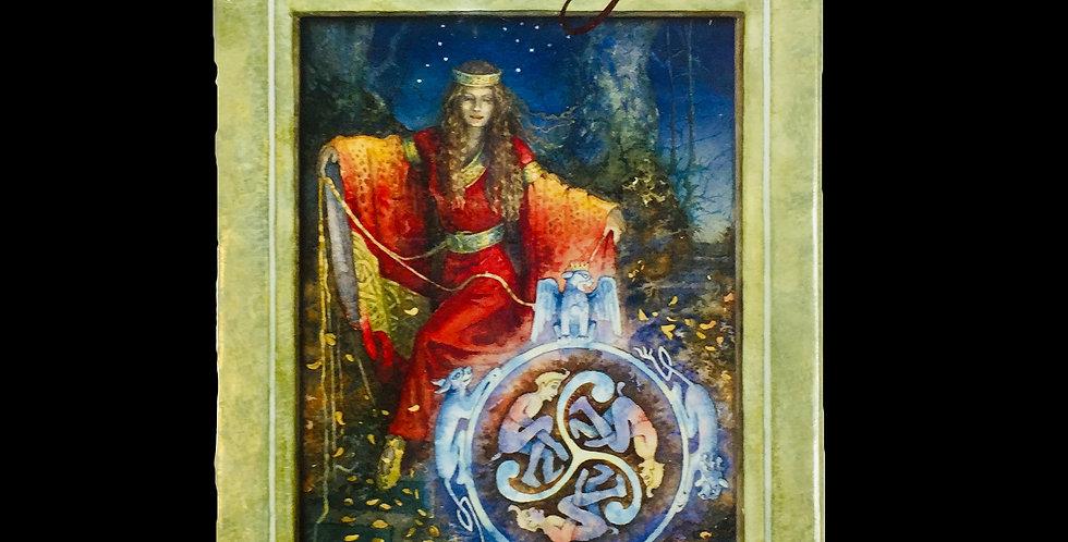 The Llewellyn Tarot deck by Anna-Marie Ferguson