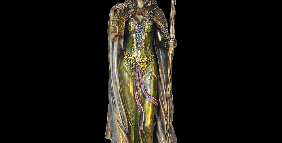 Elen of the Ways Bronze Statue: Veronese Collection
