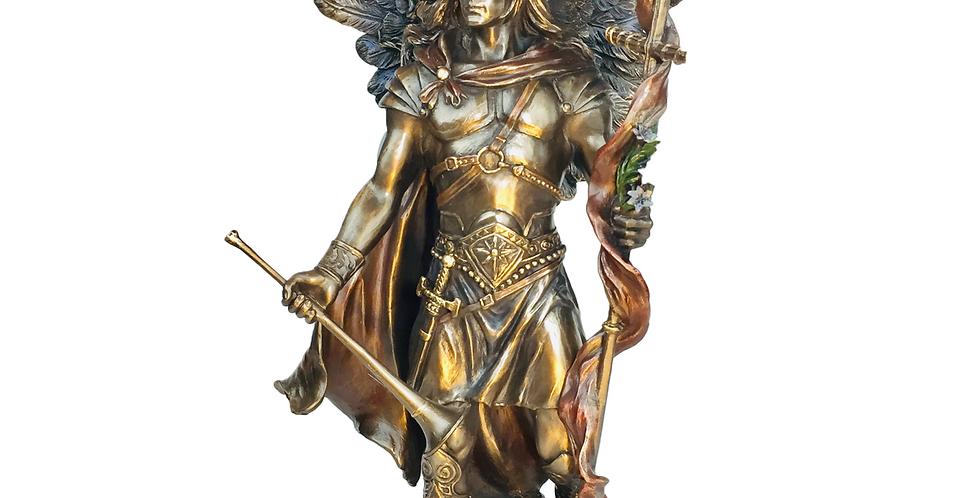 St Gabriel Bronze Statue: Veronese Collection