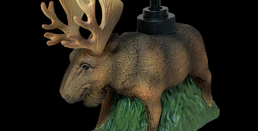 Moose hand-soap dispenser