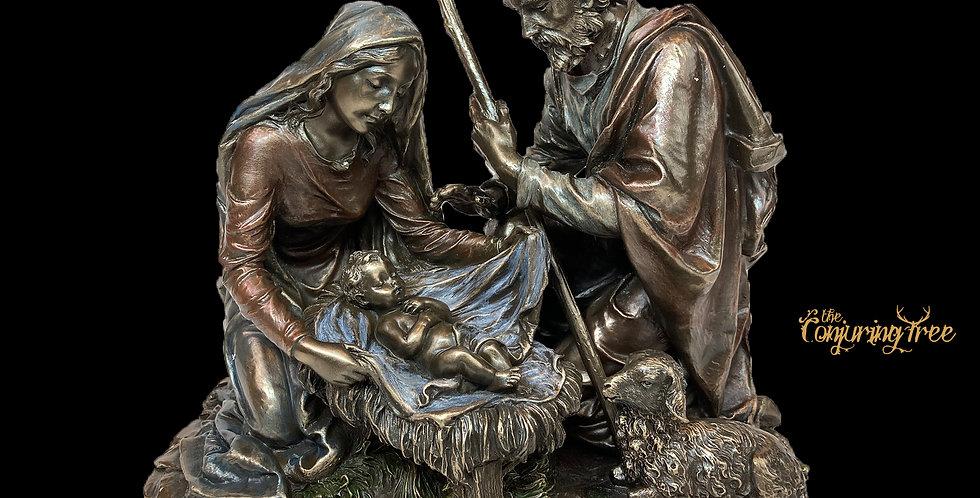 Bronze Nativity Scene- Veronese Design