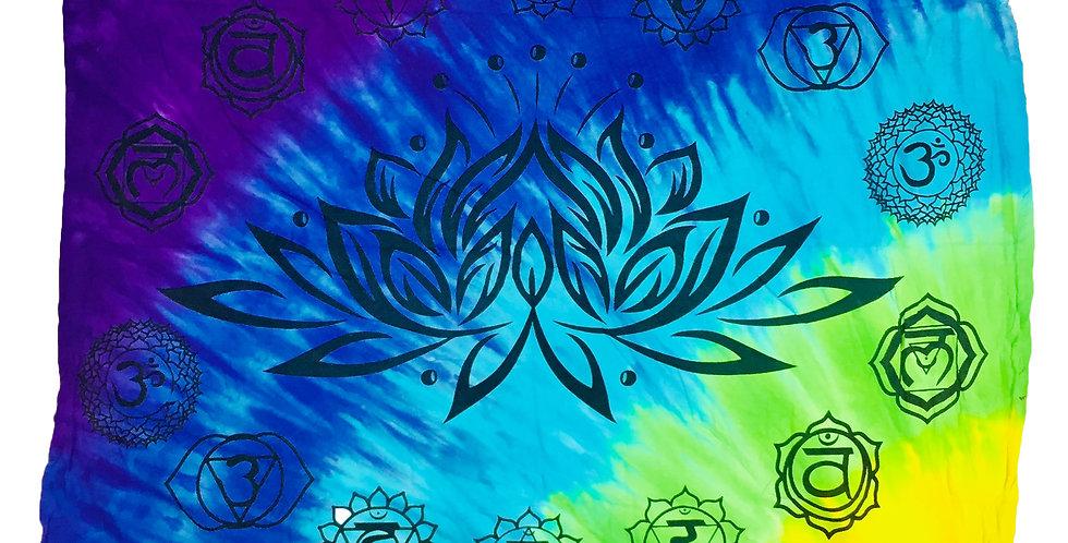 Altar Cloth - Chakra Lotus