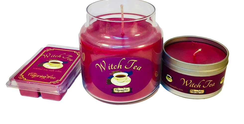 Witch Tea - Scented Candles and wax melt cubes