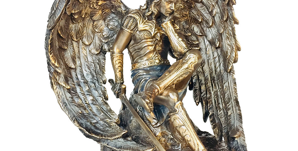 Lucifer the Fallen Angel Bronze Statue: Veronese Collection