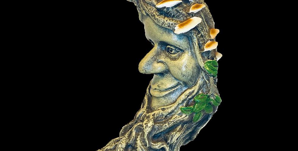 Luna Oak - Green Man cold-cast resin statue