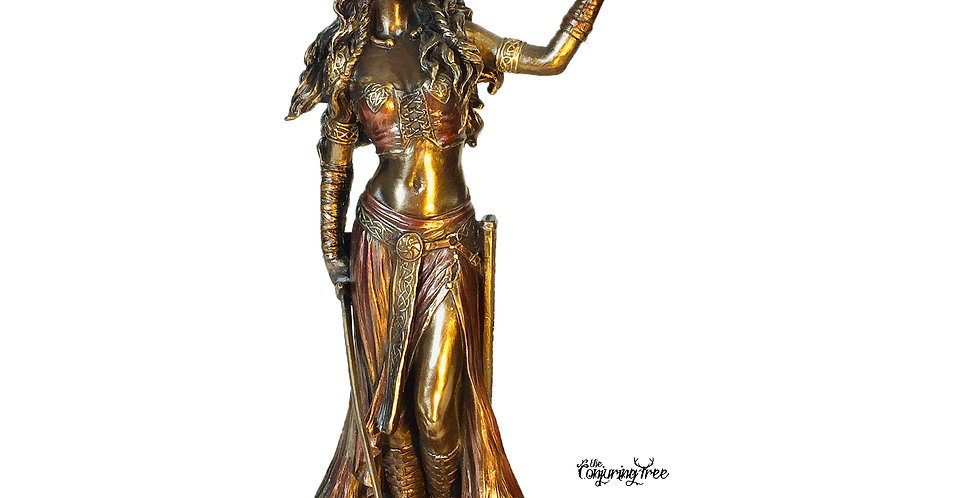 The Morrigan Bronze Statue: Veronese Collection