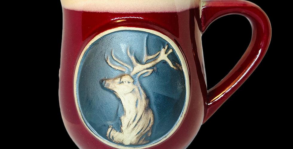 Stag Stoneware Mug- Glenn Appin