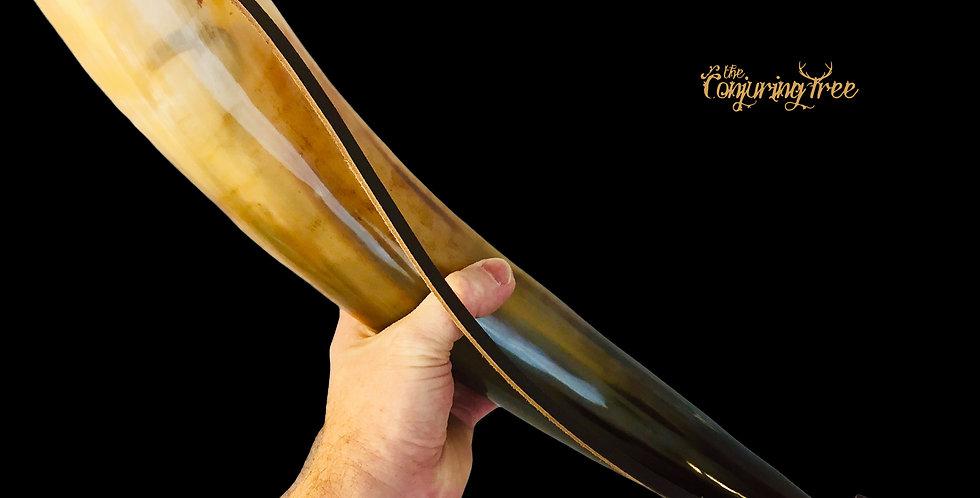 Viking war horn bugle