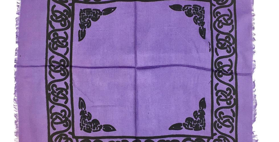 Altar Cloth - Celtic Lavender